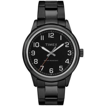 Men's New England Black Watch, Stainless Steel Bracelet - The New Normal Halloween Watch Online