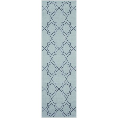 Indooroutdoor Alphonse Collection Area Rug In Teal Color