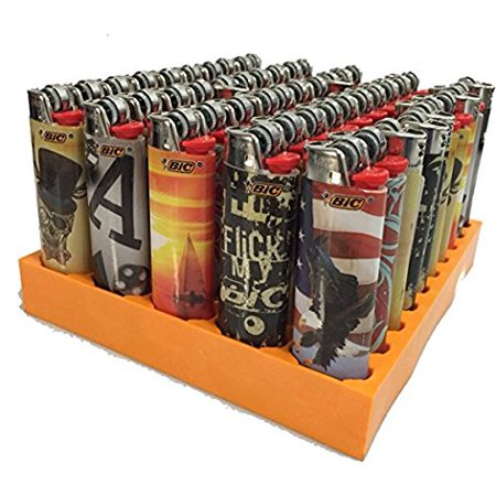 BIC Full Size Limited Special Edition Disposable Lighters Assorted Styles (10 Count)
