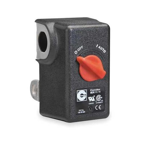 CONDOR USA, INC 11WC2X Pressure Switch, DPST, 160/200 psi