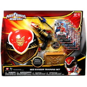 Power Rangers Megaforce Red Ranger Training Set