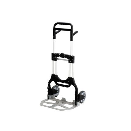 An Item of Safco Stow-Away Heavy-Duty Hand Truck, Aluminum - Pack of 1 [Bulk Qty Discount Coupon : Christo]
