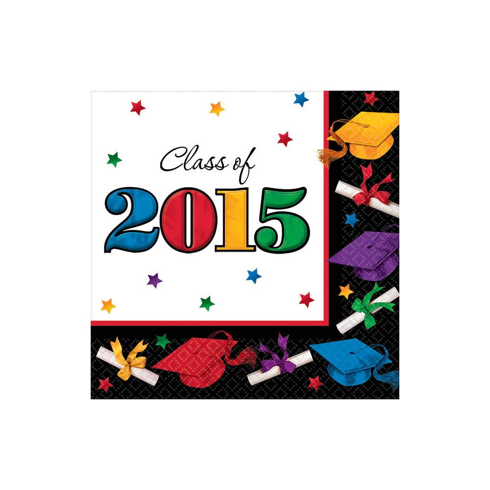 Dare to Dream 2015 Beverage Napkins (36 Pack) - Party Supplies