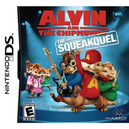 Alvin And The Chipmunks: The Squeaquel - Nintendo (Alvin And The Chipmunks Games To Play)