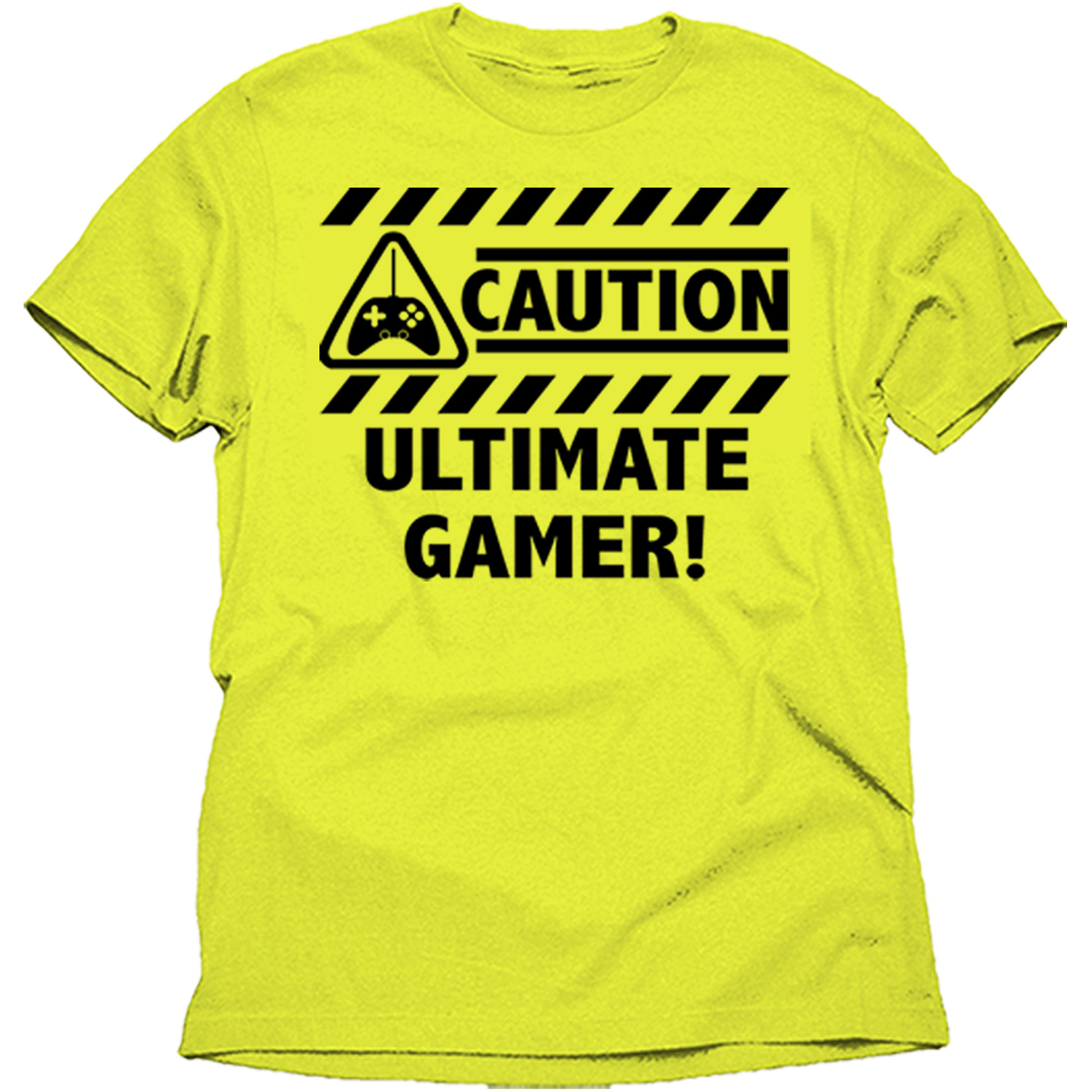 Ultimate Gamer Men's Graphic Tee Shirt