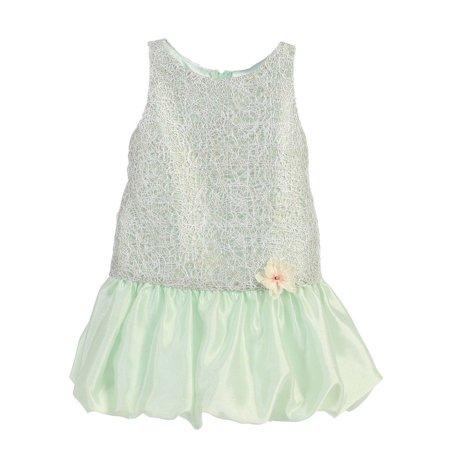 d62ff503641db1 Angels Garment - Angels Garment Girls Mint Green Mesh Overlay Easter Spring  Dress 7-10 - Walmart.com