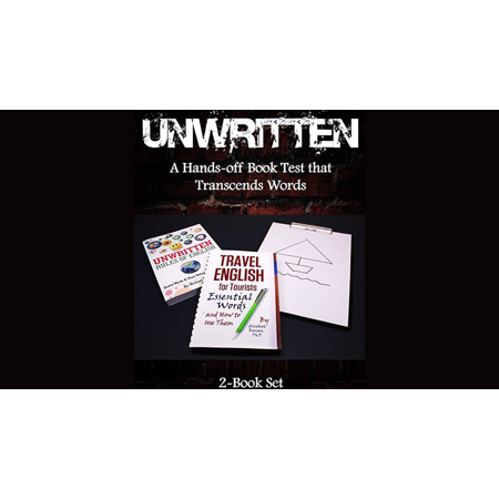 Unwritten: A Hands-off Book Test that Transcends Words (2-Book Set) by J C SUM - Trick - Sumo Dress