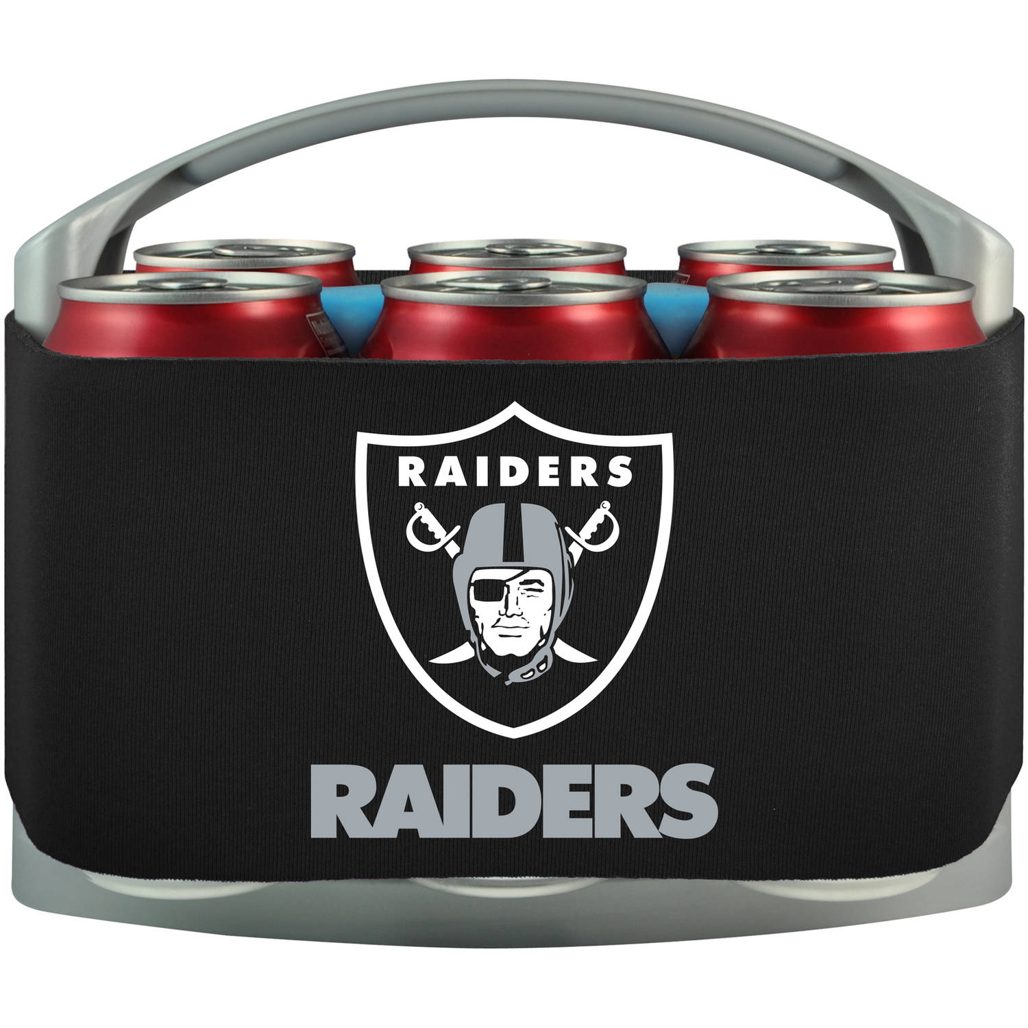 NFL Oakland Raiders Cool 6 Cooler