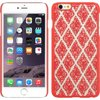 iPhone 6s plus case by Insten Hard Case for Apple iPhone 6s Plus / 6 Plus - Hot Pink/White <b>Compatible With</b><ul><li>Apple iPhone 6 Plus / 6s Plus</li></ul><br><b>Package Includes</b><ul><li>Rubberized Hard Snap-in Case x 1</li></ul><br><b>Item Description</b><ul><li><b>Rubberized Hard Snap-in Case</b></li><li>Protect and personalize your wireless device with this Crystal Rubber Case</li><li>The surface of this case is covered by fashionable color</li><li>This accessory provides protection by preventing scratches and chips</li><li>Hard plastic was reinforced to the front edges, sides and back of the wireless device to endure the life of the case</li><li>This wireless device Shield Protector has openings precisely made for the top and side buttons, charger port/dock connector, headset jack and speaker to allow full access to all the functions the phone offers</li><li>What's more, the pattern on the surface looks great</li><li>Our premium crystal rubber cases will help keep your device safe</li></ul><ul><li>WARNING: This product can expose you to chemicals including DE</li></ul>