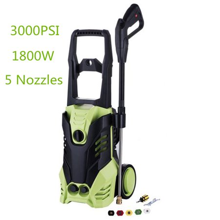 1800W 3000PSI 1.7GPM Electric High Pressure Auto Washer Cleaner Garden Car Cleaning