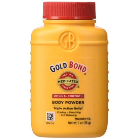 Gold Bond Medicated Body Powder Original Strength 1 oz