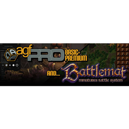 Axis Game Factory Pro and Premium and Battlemat ESD(Digital Code)