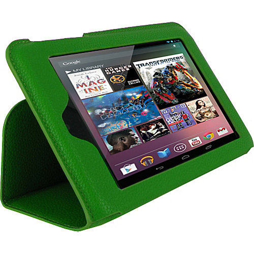 rooCASE Ultra-Slim Vegan Leather Case for Google Nexus 7 Tablet