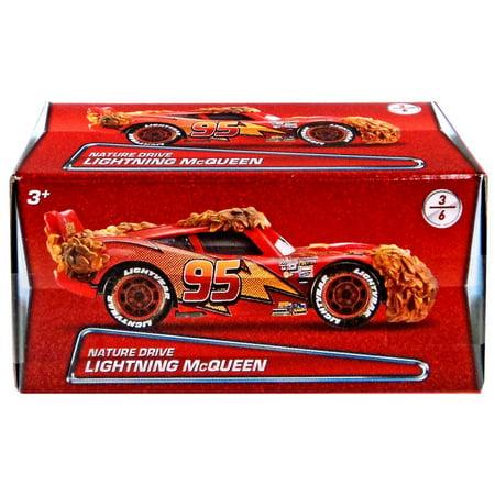 Disney Cars Puzzle Box Series 2 Nature Drive Lightning McQueen Diecast Car](Lightning Mcqueen Cars 2)