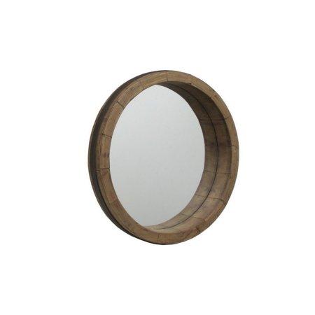 Benzara 59850 Wood Frame Mirror