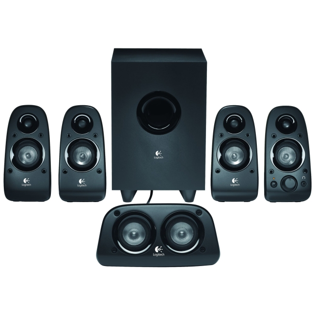 Logitech Z506 5.1 Speaker System 75 W RMS 45 Hz 20 kHz iPod Supported by Logitech
