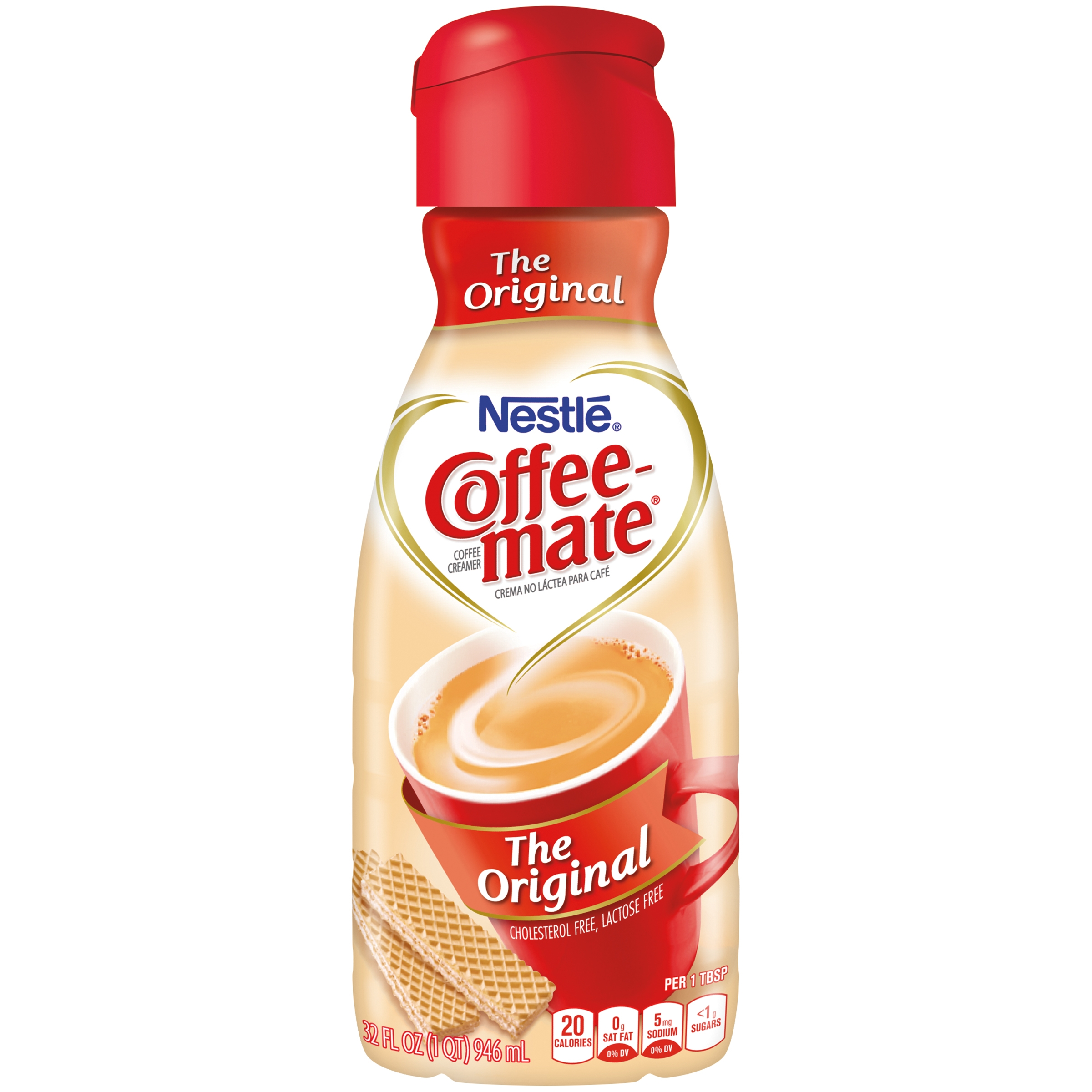 COFFEE-MATE Original Liquid Coffee Creamer 32 fl. oz. Bottle
