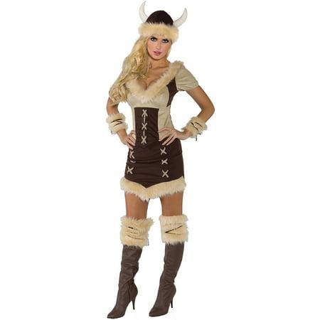 Viking Queen Adult Halloween Costume