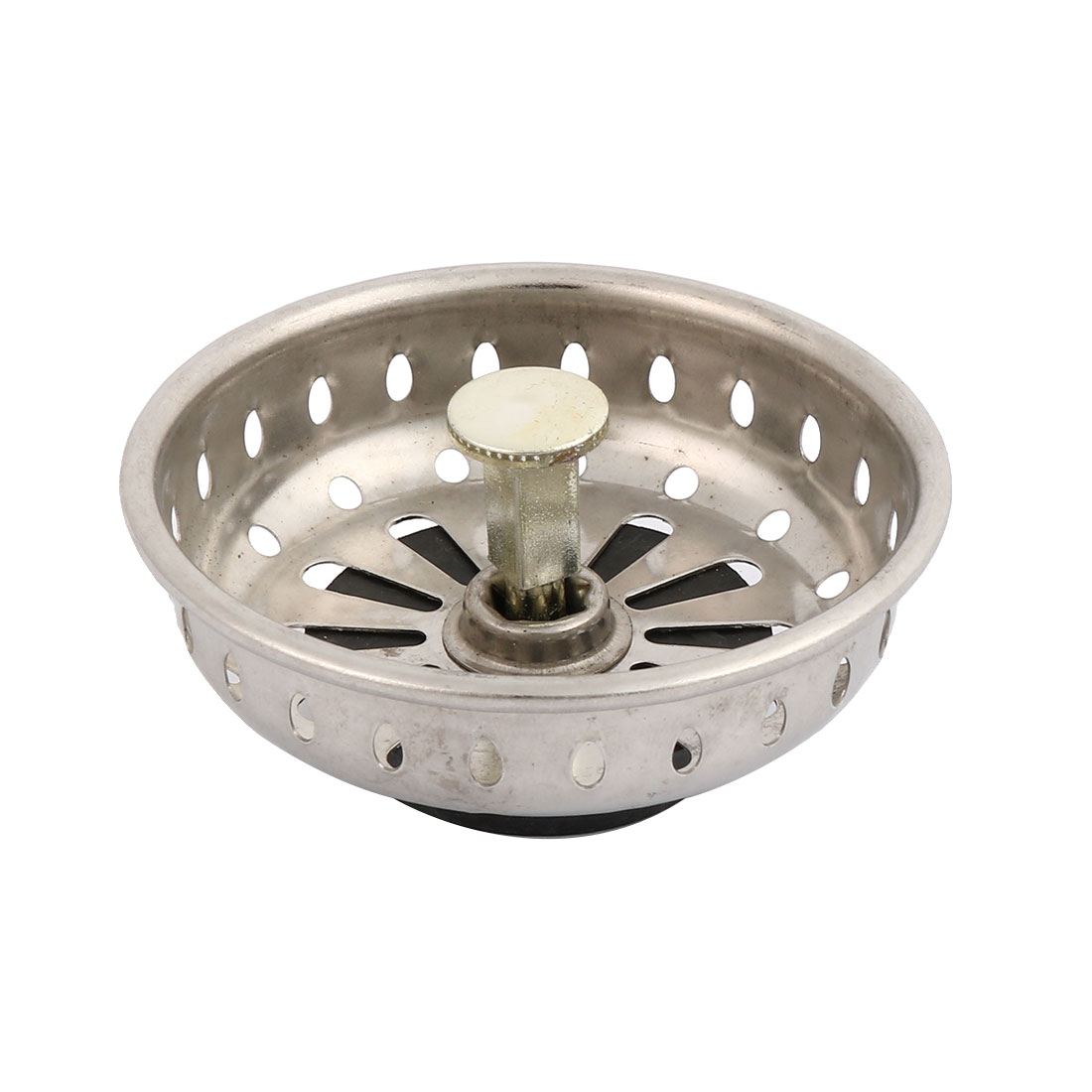 Kitchen Sink Metal Round Strainers Stopper Basin Drainer Hair Stopper