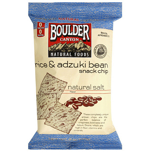 Boulder Canyon Natural Foods Rice & Bean Snack Chips, 5 oz (Pack of 12)