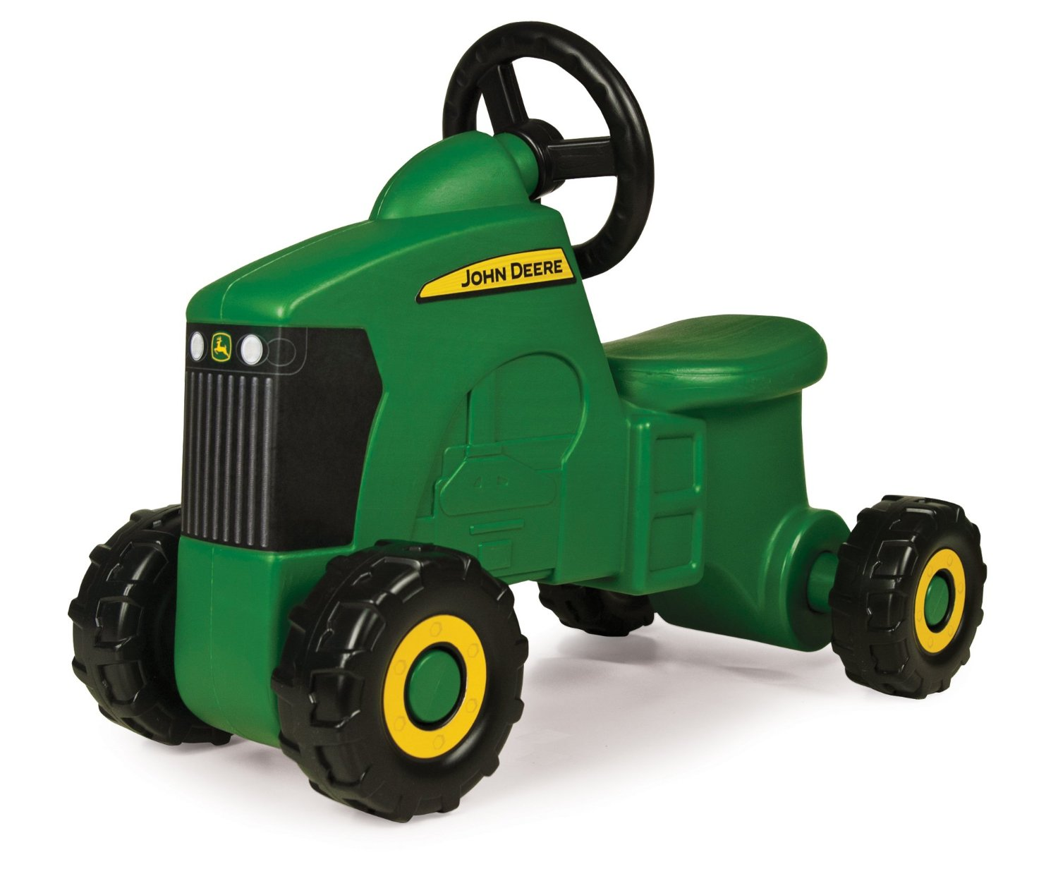 John Deere Sit-N-Scoot Tractor, Kids Can Simulate The Work They See Done Around The Farm... by