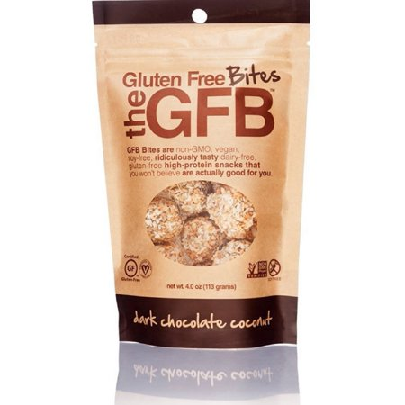 Gluten Free Bites, Dark Chocolate Coconut 4 oz