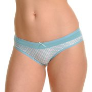 Angelina Lightweight Patterned Bikini Panties (12-Pack)