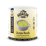 Augason Farms Chicken Noodle Chicken Flavored Soup Mix No. 10 Super Can