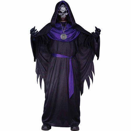 Emperor of Evil Child Halloween Costume - Evil Jester Halloween Makeup