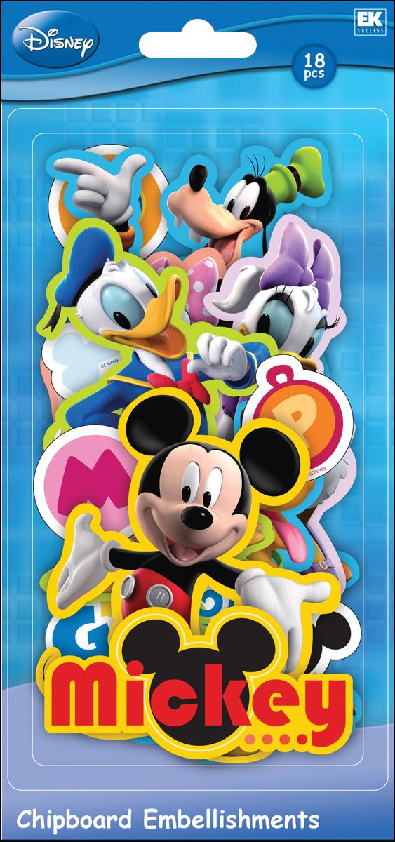 Disney Chipboard Pieces Fairies