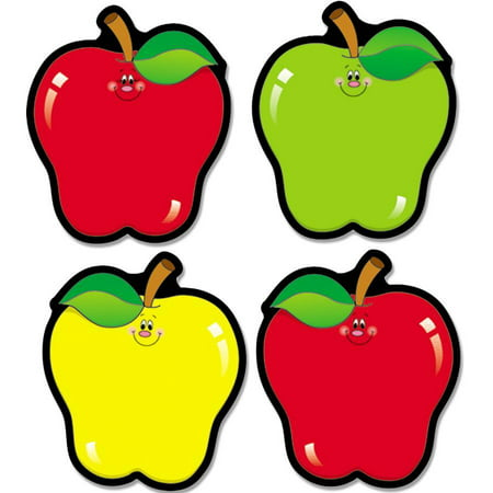 Carson-Dellosa, CDP5555, Apple Cut-Outs, 1 Set, Assorted](Apple Cut Out)