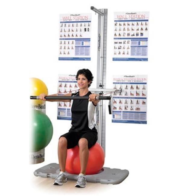 Fabrication Enterprises 10-1570 Thera-Band Professional Platform Exercise Station