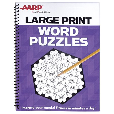 EasyComforts AARP Large Print Word Puzzles](Halloween Word Puzzles Printable)