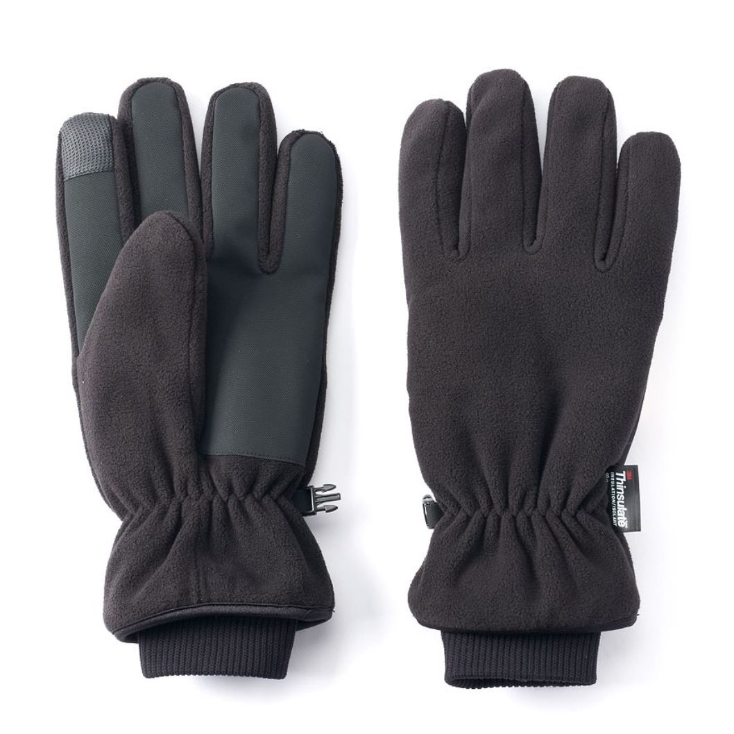 Tek Gear Warm Tek Microfleece Texting Waterproof Gloves Men