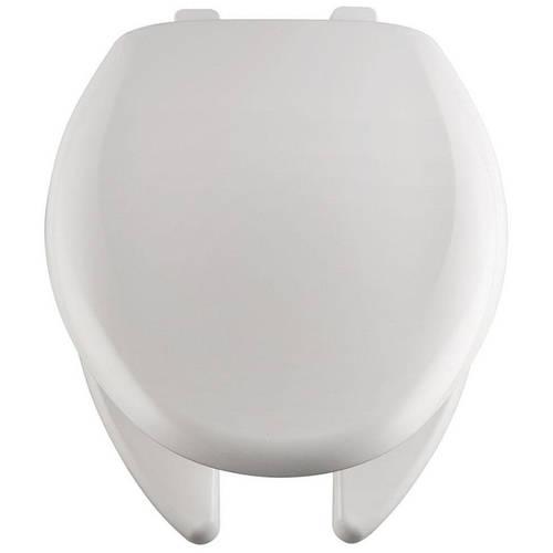 Church 290TLA Plastic Elongated Toilet Seat, White
