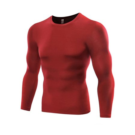 61e0896e6db Men Compression Tops Sports Gym Quick Dry T-shirt