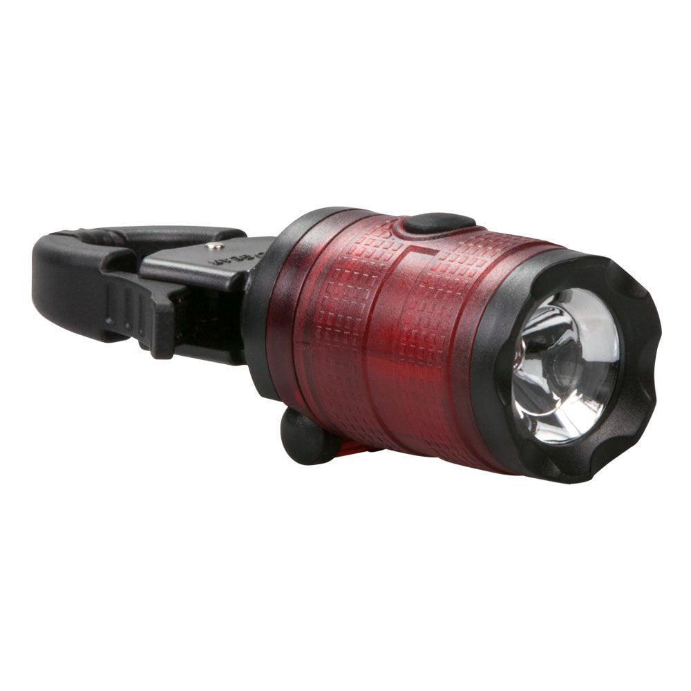 Life Gear Small Clamp Flashlight Bat Tilts /& Swivels for Directional Lighting