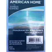 American Home by Yankee Candle Peaceful Beach, 2.6 oz Fragranced Wax Cubes