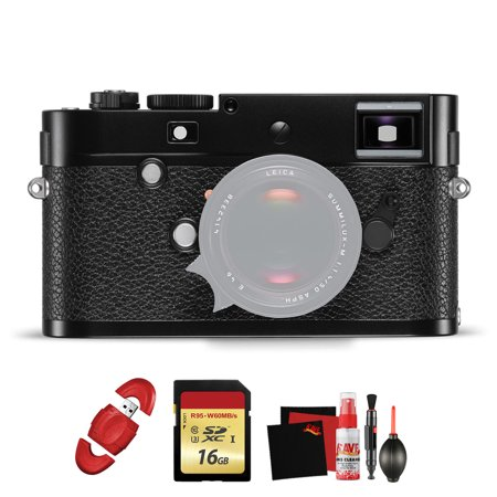 Leica  M-P (Typ 240) Digital Rangefinder Camera (Black) with Memory Card