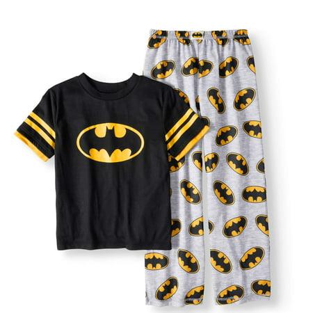 Boys' Logo 2 Piece Pajama Set - Batman Pajamas For Babies