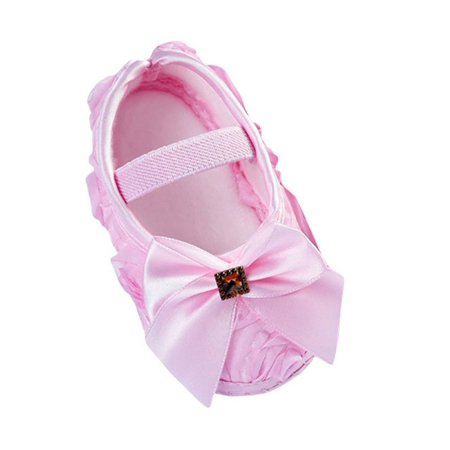 Baby Soft Bowknot Princess Shoes Anti-Slip ()