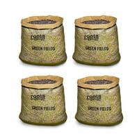 Roots Organics ROGF Green Fields Hydroponic Garden Potting Soil, 10 Gal, 4 Pack