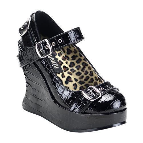 BRA10 B Demonia Platform Sandals & Shoes Womens BLACK Size: 9 by