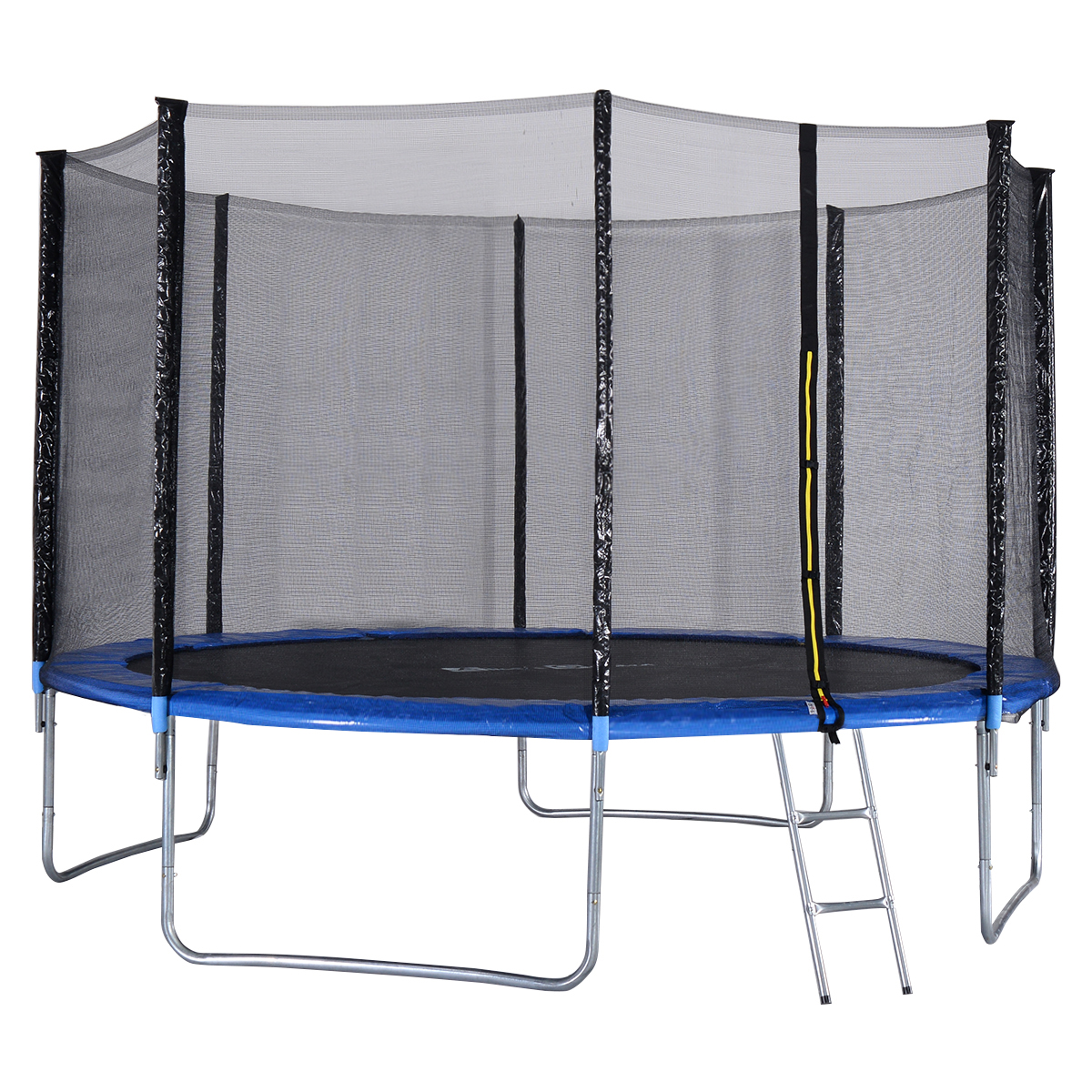 Gymax 12 FT Trampoline Combo Bounce Jump Safety Enclosure Net