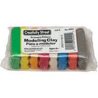 Chenille Kraft Modeling Clay Assortment, 27 1/2g each Assorted Bright, 220 g
