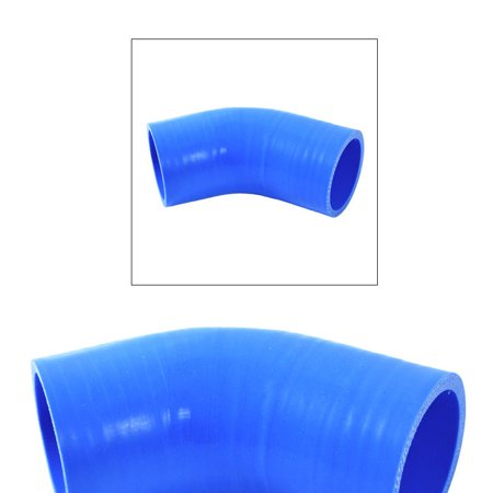 "2.25"" Elbow 45 Degree Silicone Coupler Polyester Layers"