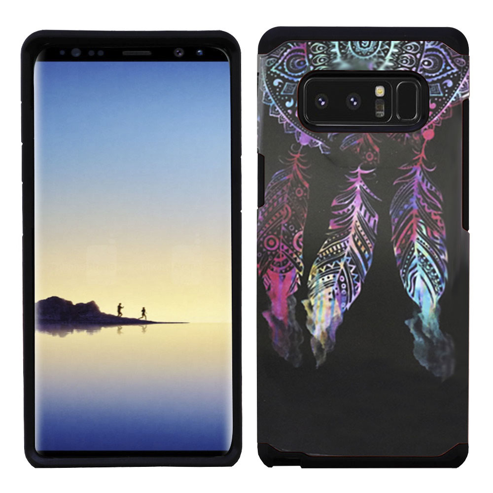 Kaleidio Case For Samsung Galaxy Note 8 [Astro Armor] Rugged Slim Fit [Shock Absorption] [Dual Layer] Hard Hybrid Cover w/ Overbrawn Prying Tool [Dreamcatcher Design]