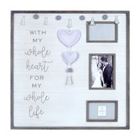 Prinz Whole Heart Embellished Felt Hearts Boxed Collage Picture Frame