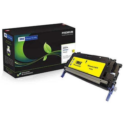 MSE Remanufactured Yellow Toner Cartridge (Alternative fo...