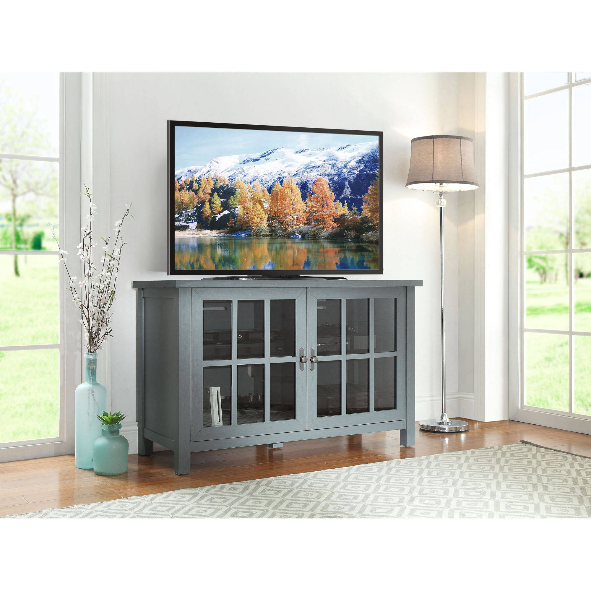 "Better Homes and Gardens Oxford Square TV Stand and Console for TVs up to 55"", Multiple Colors"